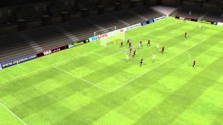 Ceuta vs Yeclano - Gol de Fernando Martin 45 minute