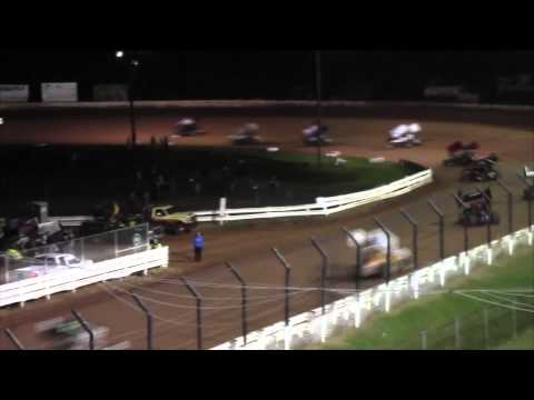 Williams Grove Speedway 410 and 358 Sprint Car Highlights 9-26-14