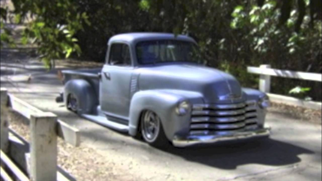 bagged 1954 chevy truck