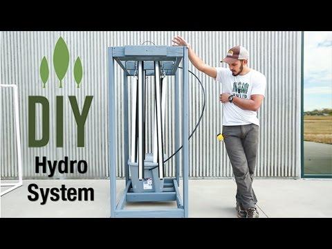 DIY ZipGrow Hydroponics System (no music)