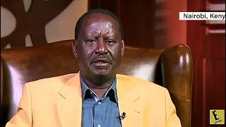 Raila Very SAD During CNN Interview.COMPLAINS Jubilee HACKERS Rigged Him Out of PRESIDENCY