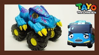 Tayo dinosaur car and the tank! l Tayo Rangers Special #1 l Tayo The Little Bus