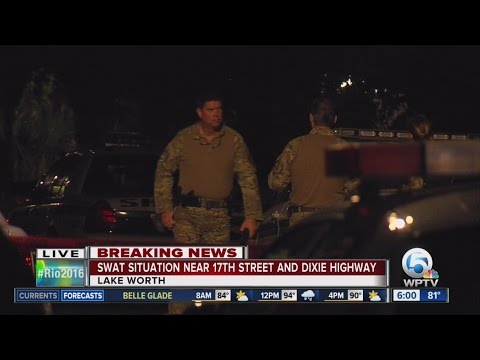SWAT situation investigated in Lake Worth