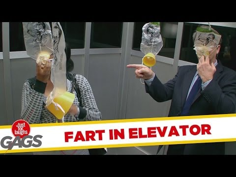 Fart In Elevator Prank