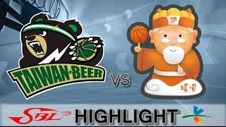 20170225 SBL超級籃球聯賽 台啤VS璞園 Highlight