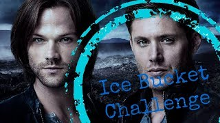 Ice Bucket Challenge SUPERNATURAL cast