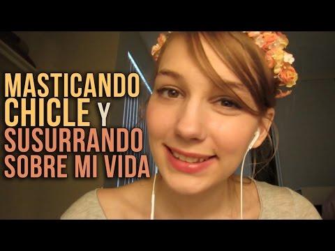 [ASMR EN ESPAÑOL] 🌺 Masticando Chicle y Susurrando sobre mi Vida