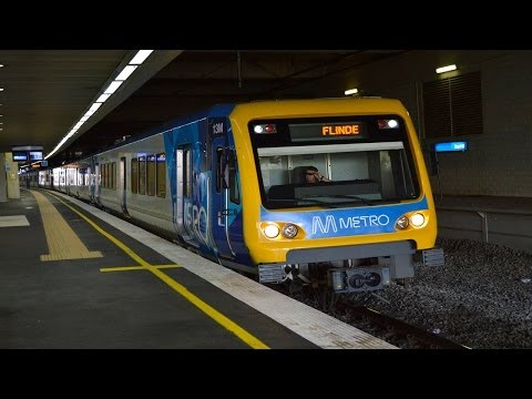 Trains, trams and buses at Box Hill - Melbourne Transport