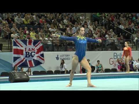 Beth Tweddle - Floor - British Championships 2012 - All Around Finals