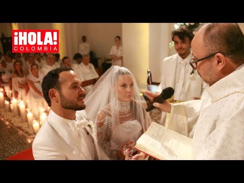 La inolvidable y romántica boda de Paula Andrea Betancur y Luis Miguel Zabaleta | ¡HOLA! Colombia