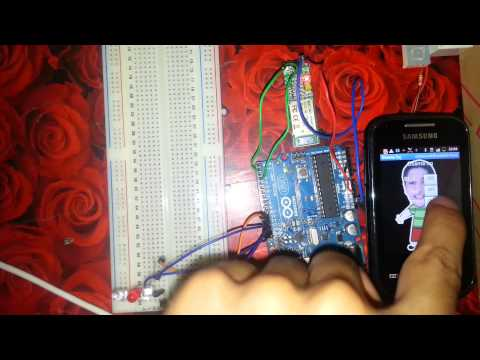 Android Arduino Bluetooth Project