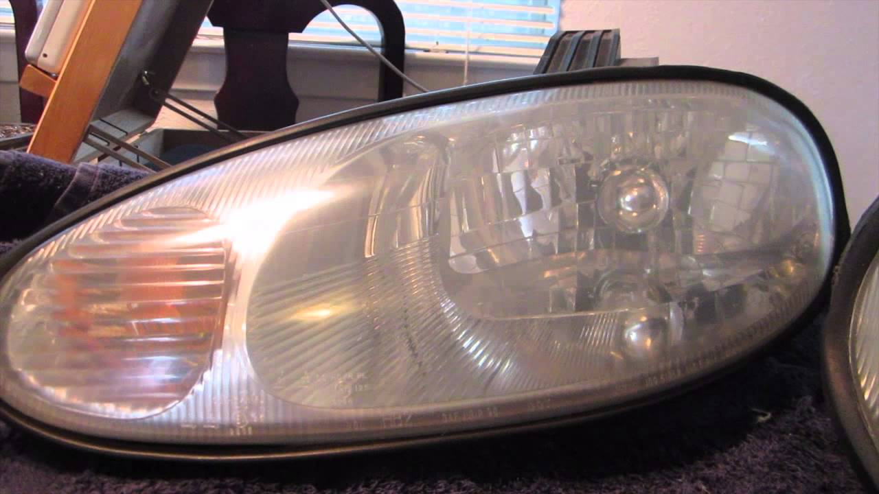2000 Miata Headlights 1999 Miata Headlight