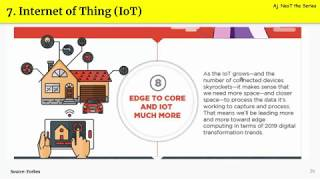 Technology Trends for 2019 EP.7 Internet of Things (IoT) คืออะไร มาแรงแค่ไหน ทำอะไรได้บ้าง