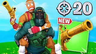 20 ELIMS With *NEW* Pistol Update! Ft. LazarBeam & Muselk