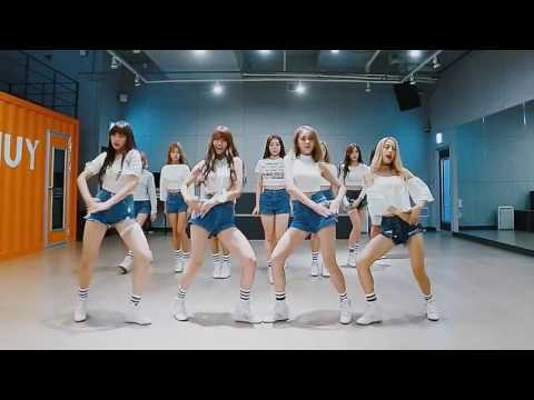 開始Youtube練舞:Secret-Cosmic Girls | 慢版教學
