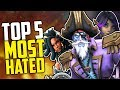 Paladins Top 5 Most Hated Champions