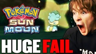WORST SHINY FAIL OF ALL TIME!  - Pokemon Sun and Moon (SHINY FOMANTIS FAIL) #BlameTheCharizard