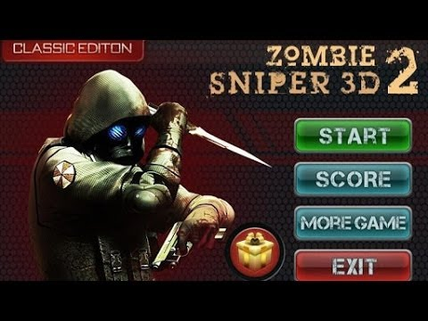 Zombie Sniper 3D II Android GamePlay Trailer (HD)