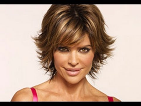 (Part 1 of 2) How to CUT and STYLE your HAIR like LISA RINNA Haircut Hairstyle Tutorial layered shag