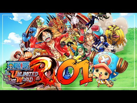 Fiebre Pirata | One Piece Unlimited World Red | Ep:1 Wii U video