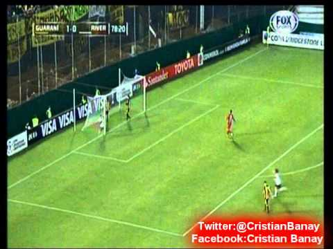 Guarani 1 River 1 (Radio Nacional Paraguay)   Copa Libertadores 2015