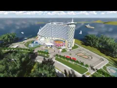 SonTra beach hotel - Graduate architecture project - made by Lumion 50