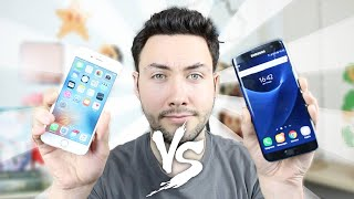 iPhone 6S VS Samsung Galaxy S7 / Edge : BIG COMPARISON