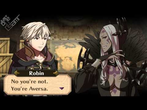 Fire Emblem Awakening - Male Avatar (My Unit) & Aversa Support Conversations