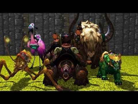 Mists of Pandaria Mounts Part I.