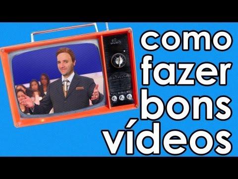 Como fazer bons vídeos (dicas para vídeo) thumbnail