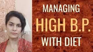 HIGH BLOOD PRESSURE DIET| HIGH BP CONTROL FOOD |Dr.Eesha Arora