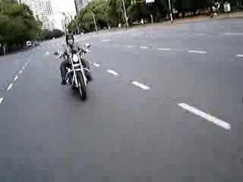 Harley Davidson Sportster Ride