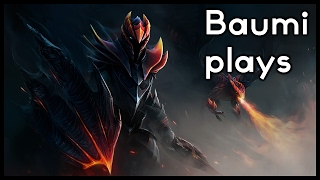 Dota 2   PUSH BARRACKS, THEN GET BACK!!   Baumi plays Dragon Knight