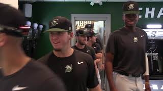 Stetson Baseball locker room