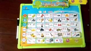 Bảng chữ cái điện tử 11 chức năng | Bảng chữ cái cho bé