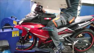 Yamaha Y15ZR aRacer RC M4 (K9 Exhaust) - Motodynamics Technology Malaysia