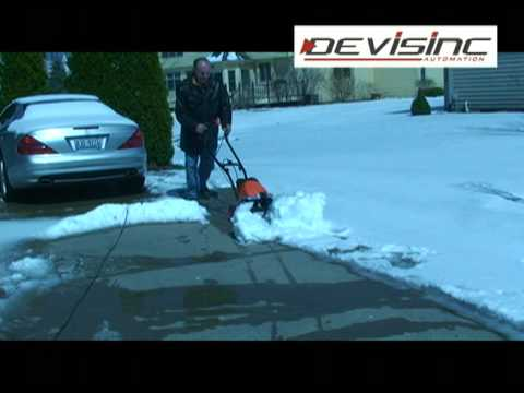 Best Electric Snow Blower >> Self Propelled Snow Shovel - invention by Devisinc.com - YouTube