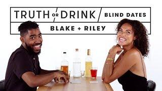 Blind Dates Play Truth or Drink (Blake & Rhylie) | Truth or Drink | Cut