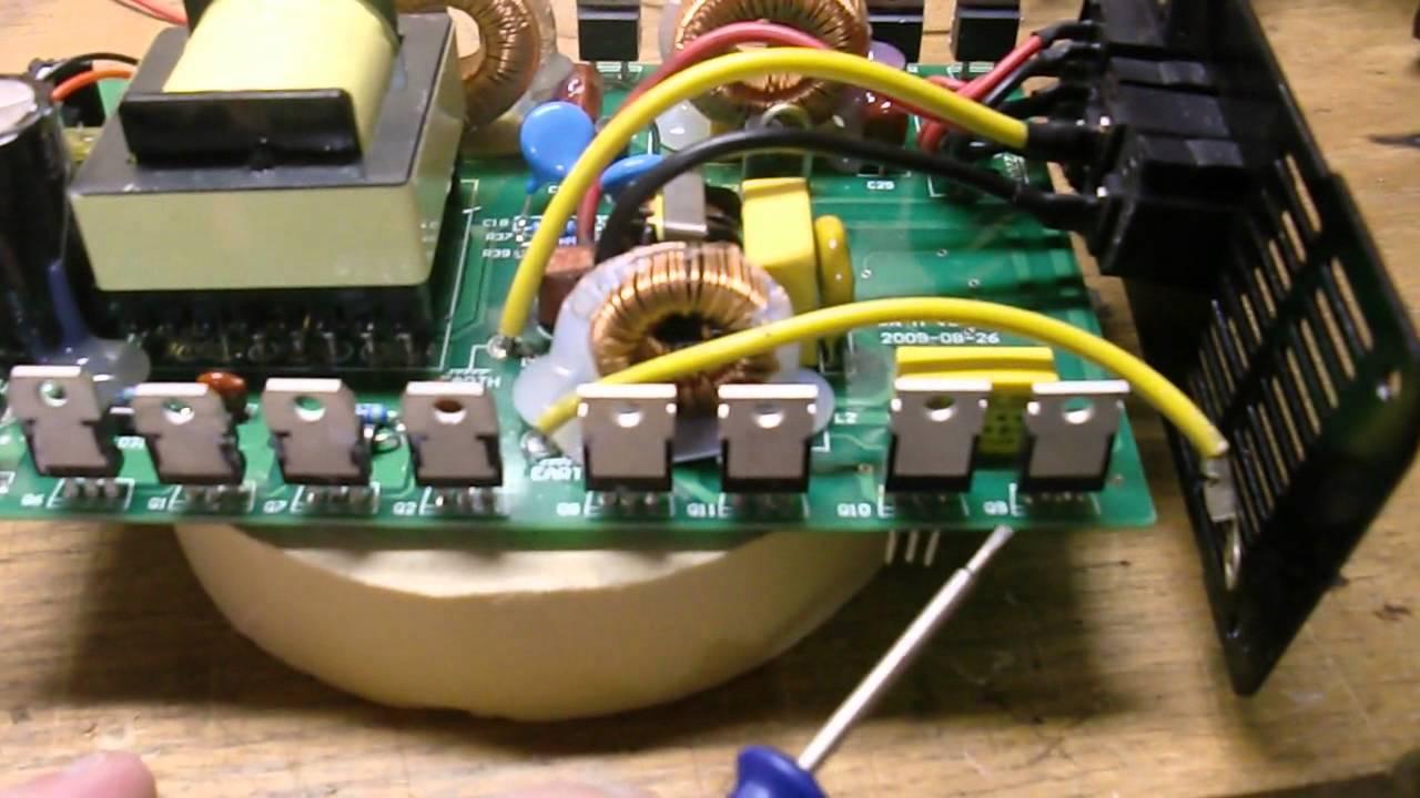 Power Jack 300 And Sun 250 Grid Tie Inverter Repair