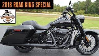 2018 Harley-Davidson Road King Special FLHRS Vivid Black