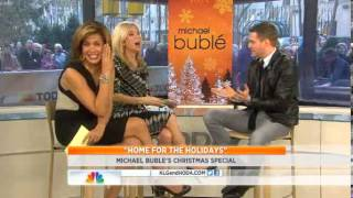 luisana lopilato and Michael Buble en TheTodayshow