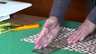 "How to cut 6 1/2"" squares from fabric - Quilting Tips & Techniques 142"