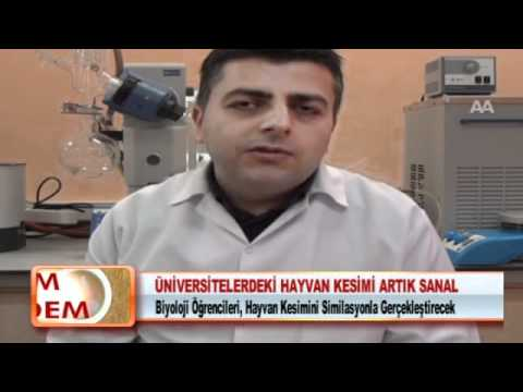 ÜNİVERSİTELERDEKİ HAYVAN KESİMİ ARTIK SANAL 14.02.2012