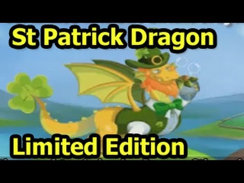 Dragon City Happy St Patrick Dragon Contest Review