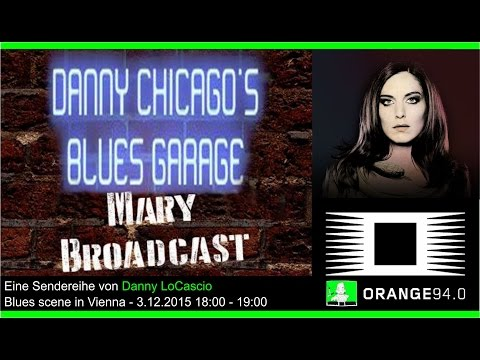 Mary Broadcast on air with Danny Chicago on Radio Orange 94.0 - 3.12.2015