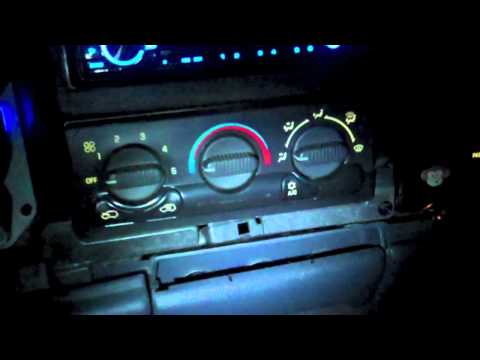 How to change the color of your dash in a 99-03 silverado PART1
