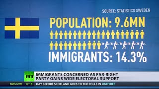 Swedish anti-immigration party gains huge voter support