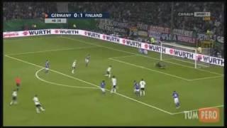 Jari Litmanen Saksaa vastaan