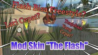 Mod Skin The Flash - GTA SA [BONUS SKILLNYA]