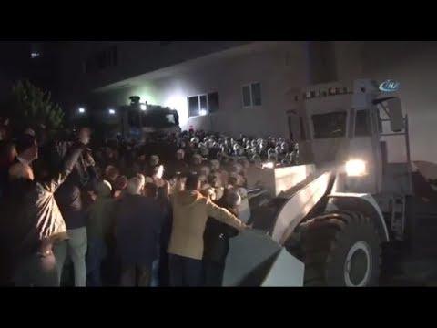 İstanbul'da Sanayi Sitesinde Yıkım Gerginliği